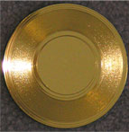 mini gold record