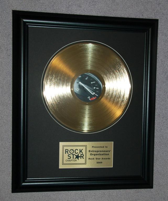 Gold Record Awards, and Platinum Record Awards